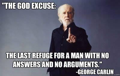 carlin god excuse