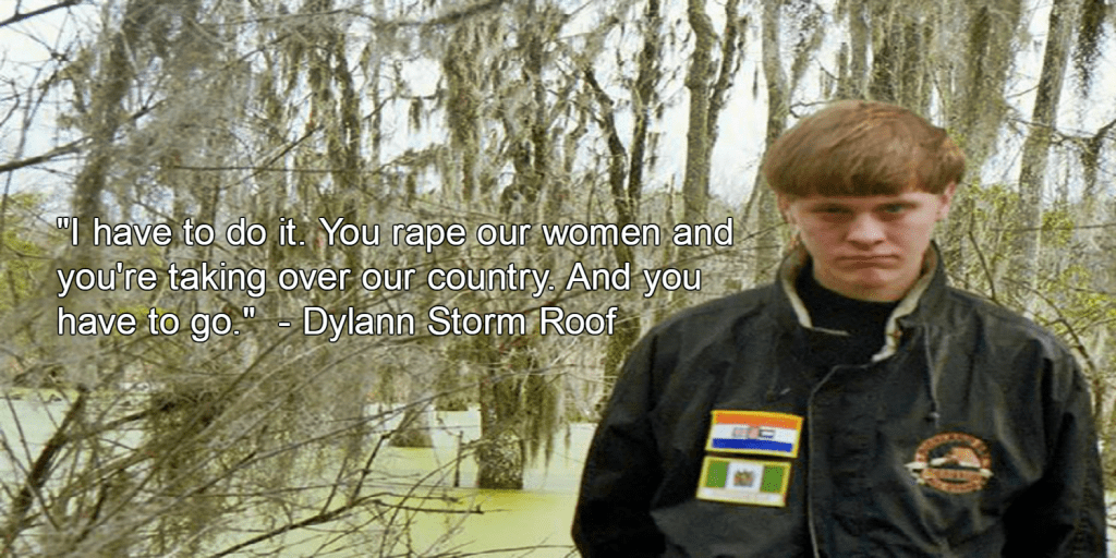 Dylann Storm Roof (Image via Facebook)