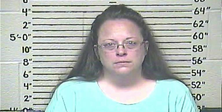 Kim Davis (Image via Carter County Jail)