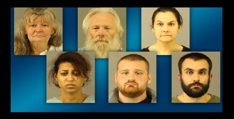 Mug Shots for Suspects (Image via WKTV Screen Grab)