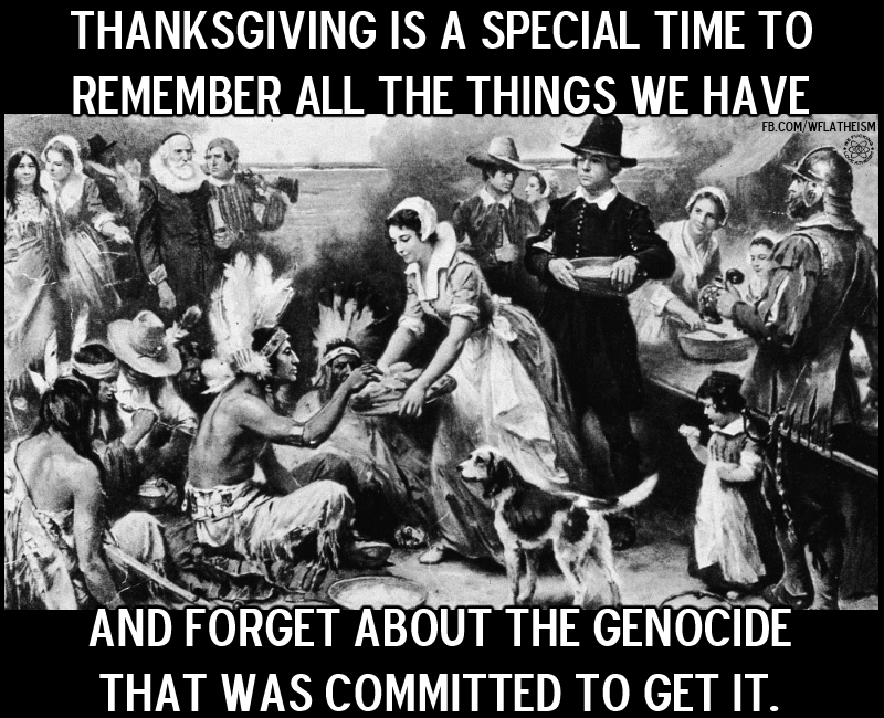 thanksgiving genocide