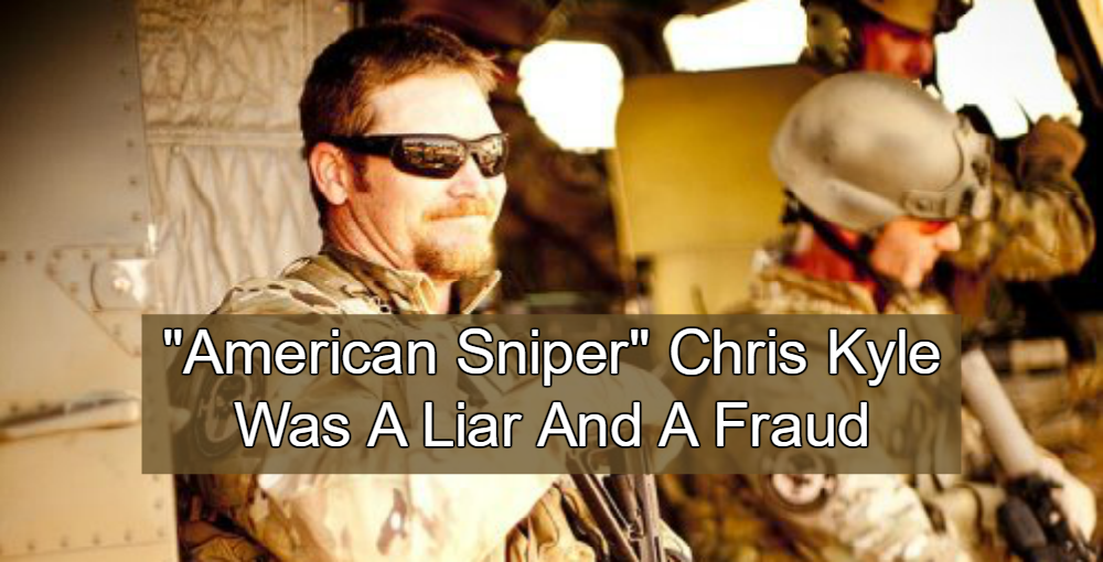 Liar For Jesus: 'American Sniper' Chris Kyle Was A Fraud | Michael Stone