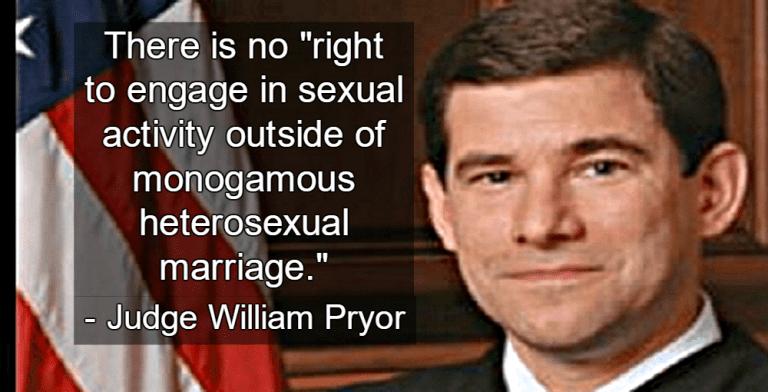 Judge William Pryor (Image via Wikipedia)