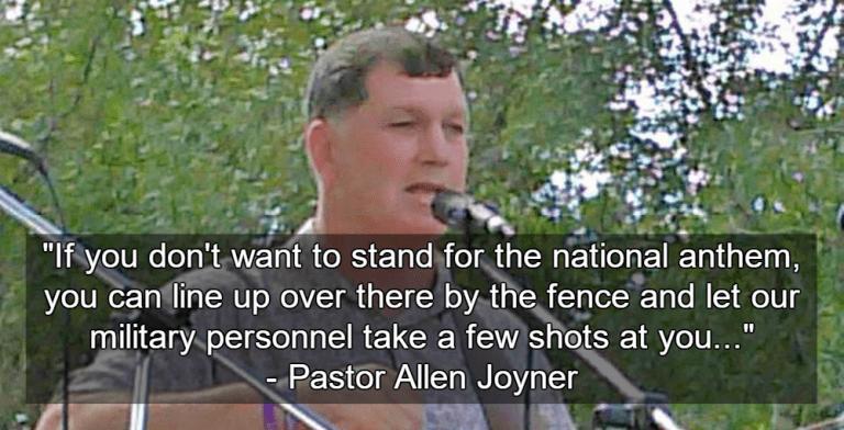 Pastor Allen Joyner (Image via Facebook)
