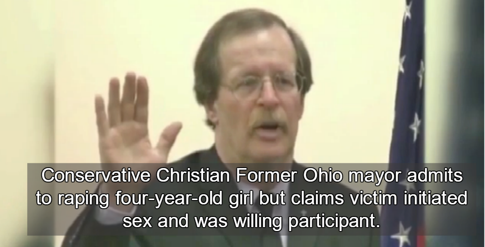 Former Ohio Mayor Richard Keenan (Image via Screen Grab)