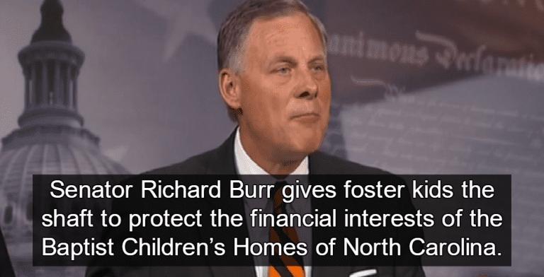 Senator Richard Burr (Image via Screen Grab)