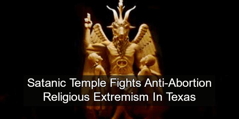 Baphomet Statue (Image via Satanic Temple)