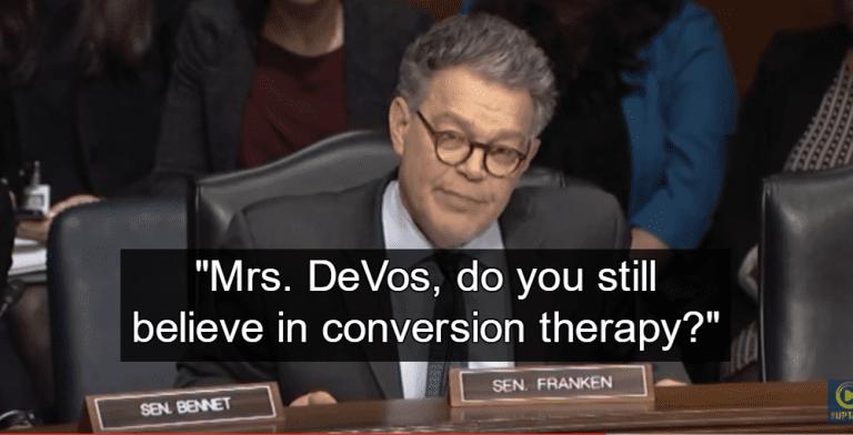 Senator Al Franken (Image via Screen Grab)