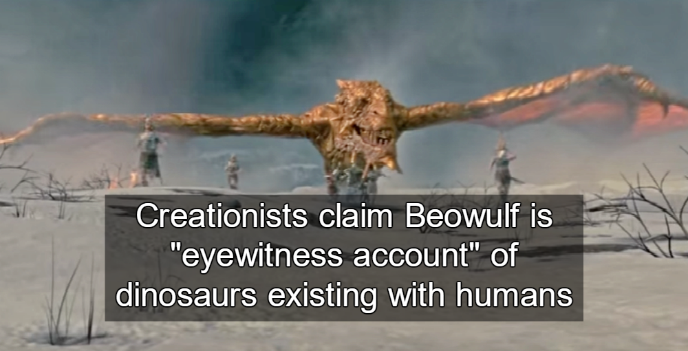 Beowulf vs. the Dragon (Image via Screen Grab)