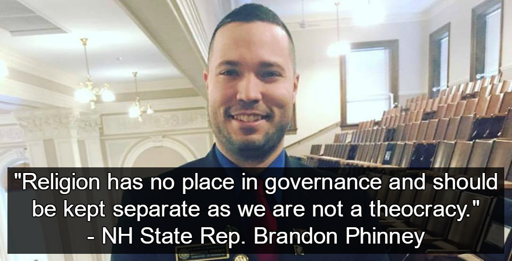 NH State Rep. Brandon Phinney (Image via Facebook)