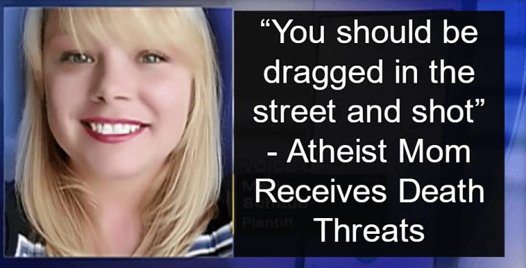 Atheist Receives Death Threats (Image via Screen Grab)