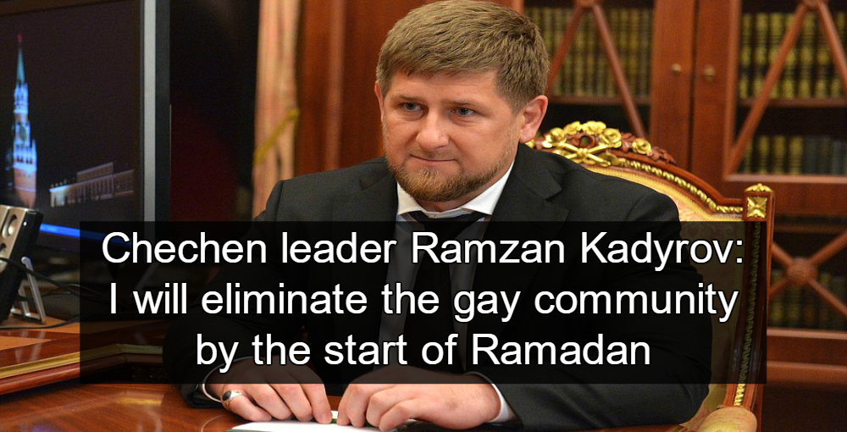 Chechnya's President Ramzan Kadyrov ((Image via ru/kremlin)