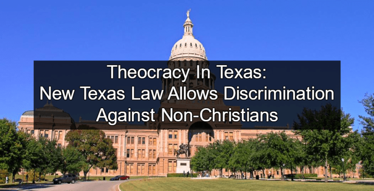 from Johan christians against gays in texas