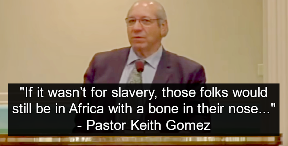 Baptist Pastor Keith Gomez (image via YouTube)