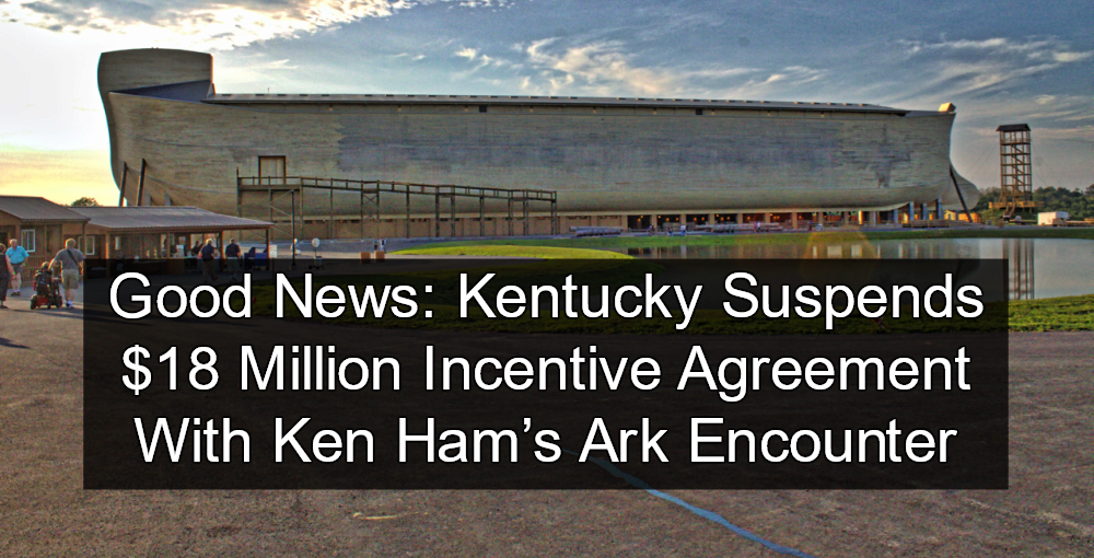 Kentucky: Ark Encounter In Breach Of Tax Incentive Agreement (Image via Wikimedia)