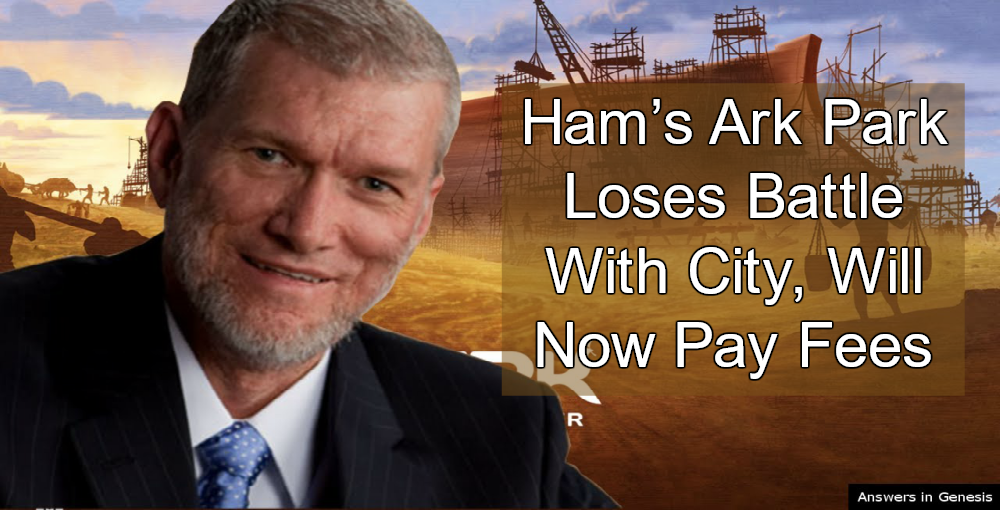 Ken Ham's Ark Encounter Loses Battle With City (Image via YouTube)