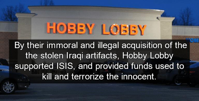 Hobby Lobby Caught Smuggling Black Market Iraqi Artifacts (Image via Wikipedia)