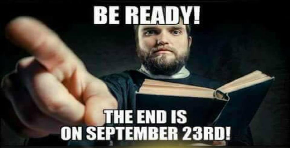Christians Claim World Will End On September 23 (Image via Tumblr)