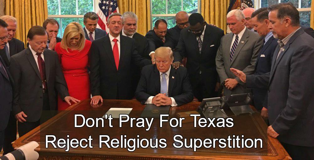 Trump Declares 'National Day of Prayer' For Hurricane Harvey Victims (Image via Screen Grab)