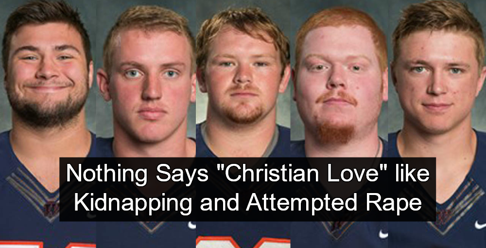Christian College Football Players Face Felony Charges After Abusing Student (Image via Screen Grab)