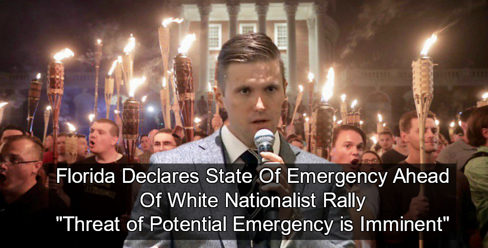 Florida Declares State Of Emergency Ahead Of White Nationalist Rally (Image via Twitter)