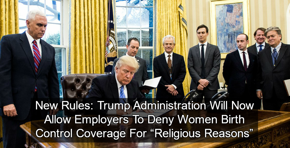Trump Ends Birth Control Protection (Image via Twitter)
