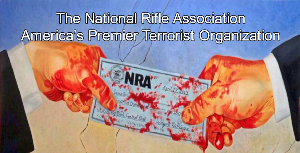 NRA Sponsored Domestic Terrorist Kills Over 50 In Las Vegas Shooting (Image via Twitter)