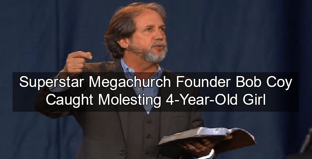 """Superstar"" megachurch founder Bob Coy accused of molesting Florida girl (Image via YouTube)"