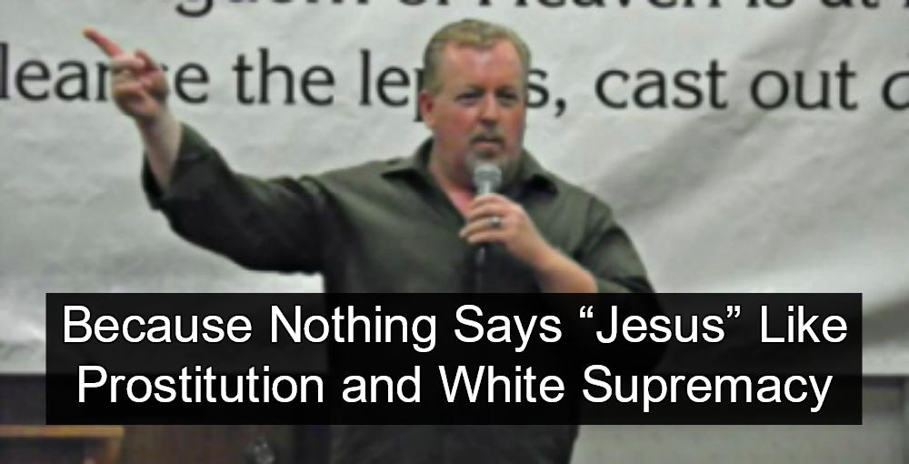 Oklahoma Pastor Walt Brazington Busted Running White Supremacist Prostitution Ring (Image via Screen Grab)