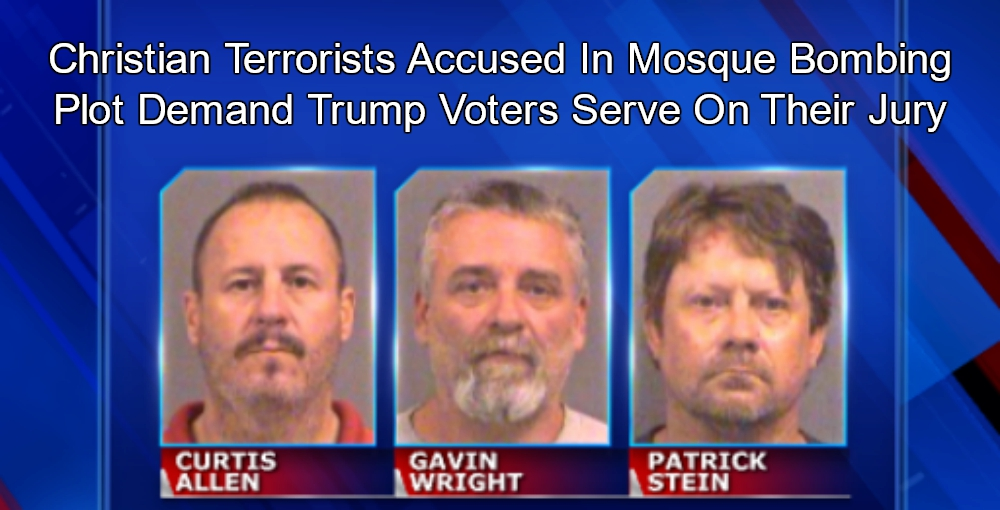 Accused Christian Terrorists Demand Trump Voters Serve On Their Jury (Image via KWCH Screen Grab)