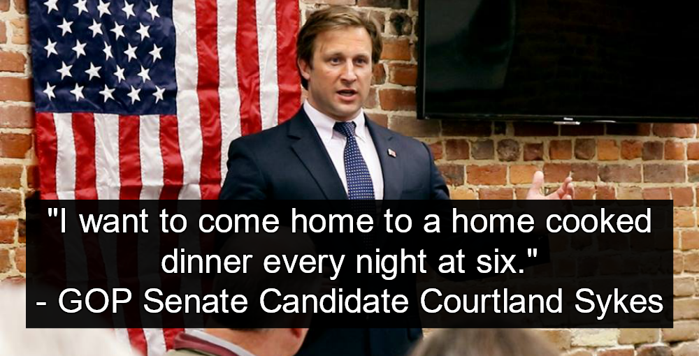 Missouri Senate Candidate Sykes: Women Are Here To Cook My Dinner (image via Facebook)