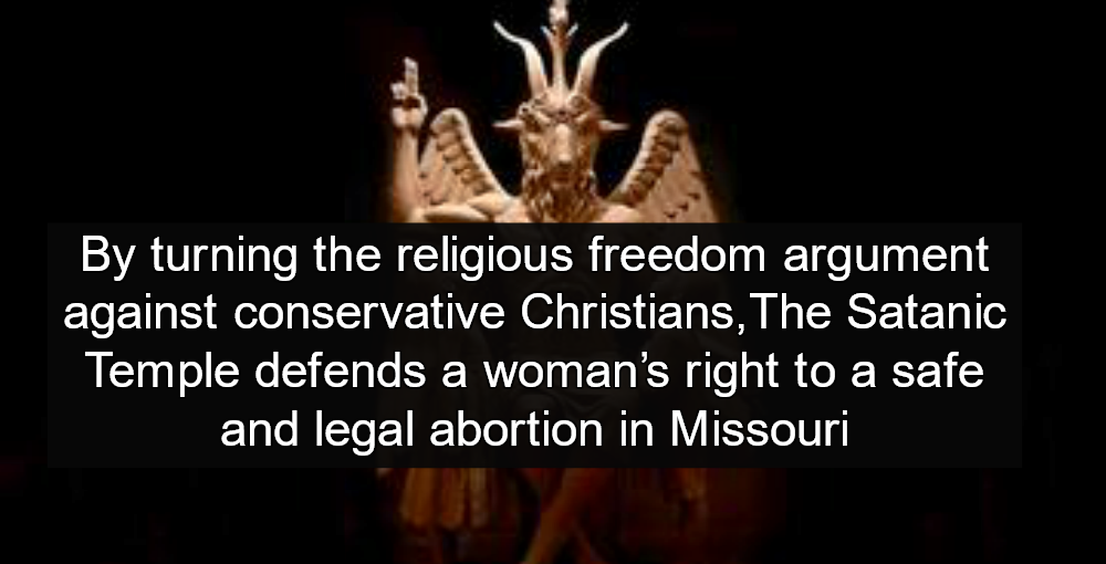 Satanic Temple Wins Abortion Victory In Missouri (Image via Facebook)