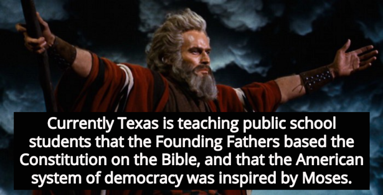Texas Education Board Debates Moses As Founding Father (Image via YouTube)