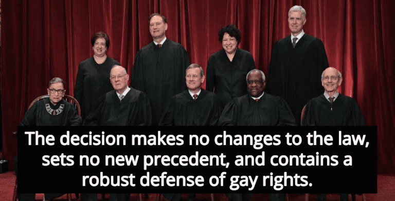 No Victory For Conservative Christians In Masterpiece Cakeshop Decision (Image via Twitter)