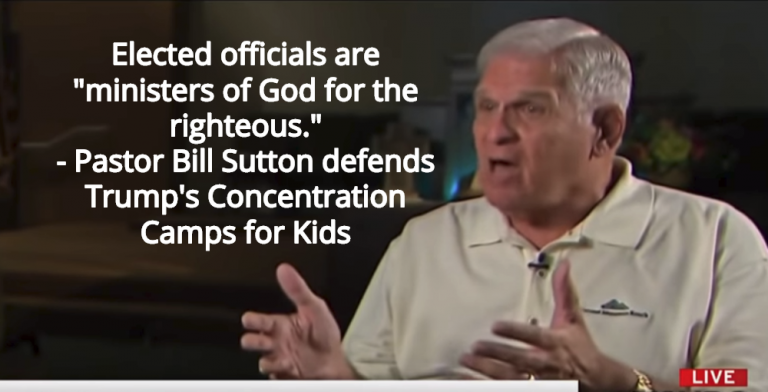 'Pro Life' Pastors Defend Trump's Concentration Camps For Kids (Image via Screen Grab)