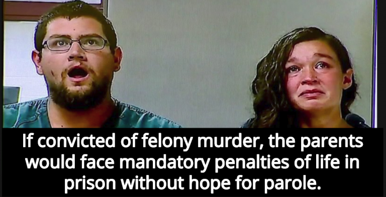 Christian Parents Charged With Murder After Starving Daughter For 'Religious Reasons' (Image via Screen Grab)
