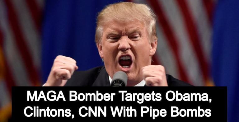 Domestic Terrorism: MAGA Bomber Targets Obama, Clintons, CNN With Pipe Bombs (Image via Reddit)