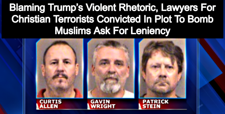 Christian Terrorists Convicted In Plot To Bomb Muslims Blame Trump's Rhetoric (Image via Screen Grab)