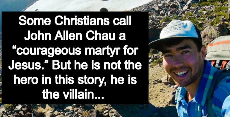 Christians Claim Dead Missionary Was A 'Martyr' - Call For Punishment Of Tribes People (Image via Facebook)