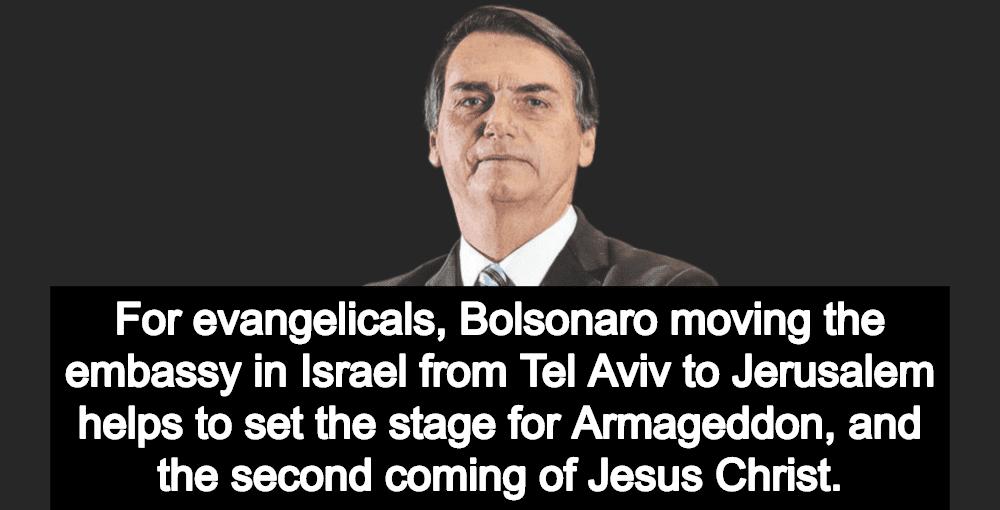 Chasing Armageddon: Brazil President-Elect Bolsonaro Will Move Embassy To Jerusalem (Image via Twitter)