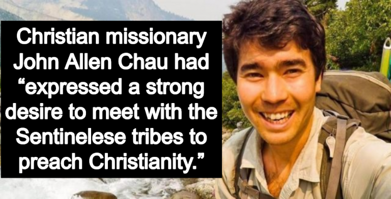 U.S. Missionary Killed By Remote Andaman Islands Tribe He Wanted To Convert To Christianity (Image via Facebook)