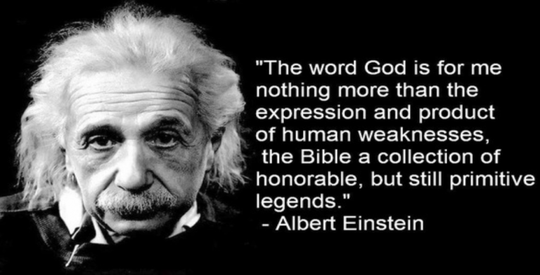 Einstein Letter Dismissing God As 'Product Of Human Weaknesses' Sells For $2.9M (Image via Facebook)