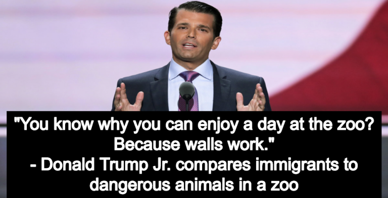 Donald Trump Jr.: Border Wall Is Like A Zoo Fence Protecting You From Dangerous Animals (Image via Flickr)