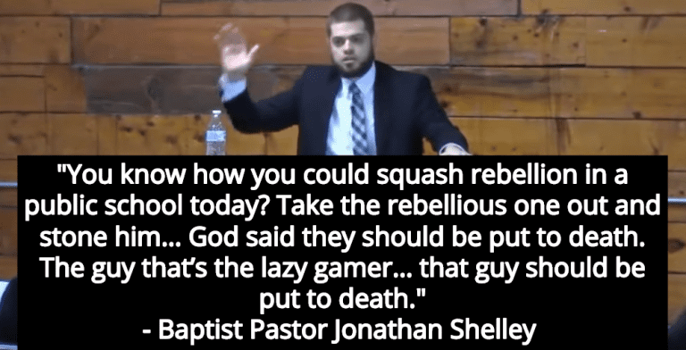 Baptist Pastor: God Says 'Rebellious' Teens And 'Lazy Gamers' Should Be Put To Death (Image via Screen Grab)