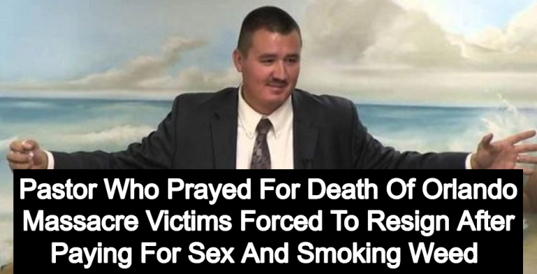 'Death To Gays' Pastor Donnie Romero Apologizes For 'Being With Prostitutes' (Image via YouTube)