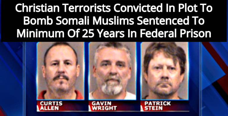 Christian Terrorists Sentenced To 25 Years For Plot To Bomb Somali Muslims In Kansas (Image via Screen Grab)