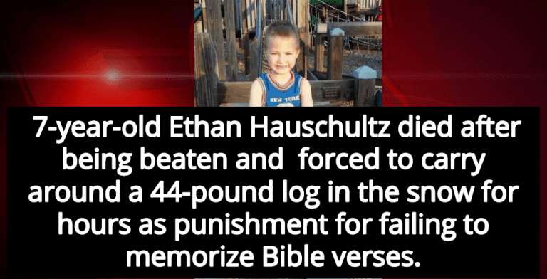 7-Year-Old Boy Killed While Being Punished For Failing To Memorize Bible Verses (Image via Screen Grab)