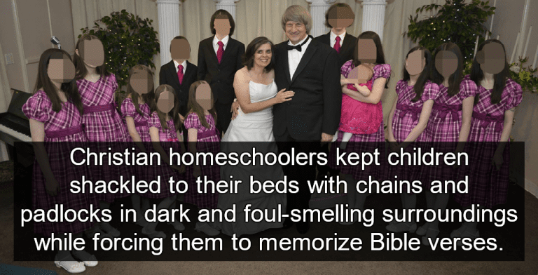 Christian Homeschoolers Plead Guilty To Torture And Abuse Of Their 13 Children (Turpin family image via Facebook)