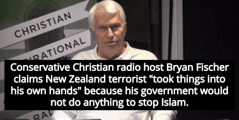 New Zealand Terror Attack Video Wallpaper: Christian Host Bryan Fischer Defends New Zealand Terror