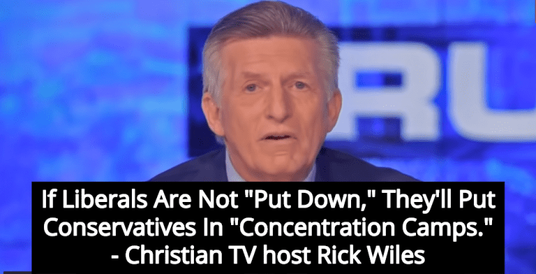 Christian TV Host Warns That Liberals Will Put Conservatives In Concentration Camps (Image via Screen Grab)